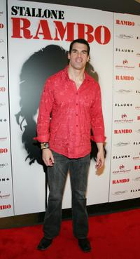Brandon Molale at the world premiere of