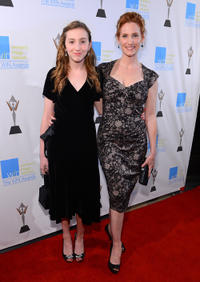 Judith Hoag and Guest at the 14th Annual Women's Image Network Awards in California.