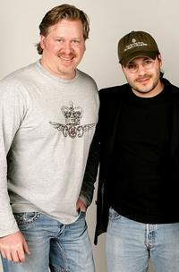 Tom Hodges and Adam Rifkin at the 2007 CineVegas film festival.