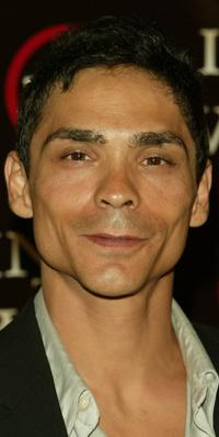 Zahn McClarnon at the premiere of
