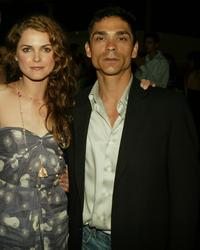 Keri Russell and Zahn McClarnon at the after party of the premiere of