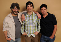 Onur Tukel, director Michael Tully and Robert Longstreet at the portrait session of