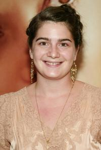 Gaby Hoffmann at the special screening of