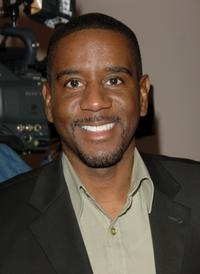 Reggie Gaskins at the 38th Annual NAACP Image Awards nominees luncheon.