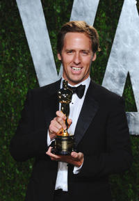 Nat Faxon at the 2012 Vanity Fair Oscar party in California.