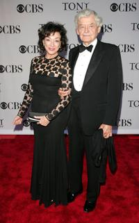 Hal Holbrook and Dixie Carter at the 60th Annual Tony Awards at Radio City Music Hall.