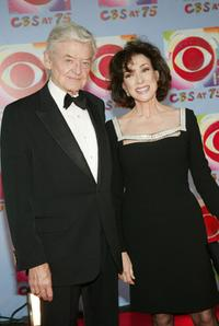 Hal Holbrook and Dixie Carter at the 'CBS at 75' television gala at the Hammerstein Ballroom in New York City.