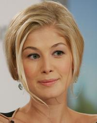 Rosamund Pike at the press conference of