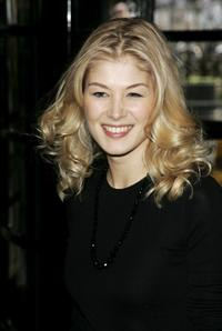 Rosamund Pike at the South Bank Show Awards.