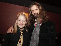 Daeg Faerch and Rob Zombie at the after party of the premiere of