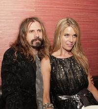 Rob Zombie and Sheri Moon Zombie at the after party of the premiere of