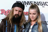 Rob Zombie and Sheri Moon at the premiere of