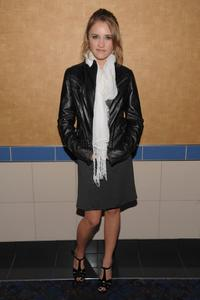 Emily Osment at the screening of