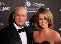 Alan Dale and Tracey Dale at the L'Oreal Paris 2007 AFI Awards.