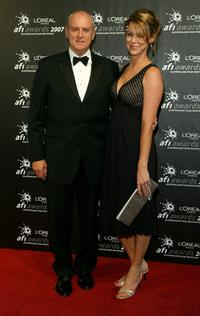 Alan Dale and Tracey Dale at the L'Oreal Paris 2007 AFI Industry Awards.