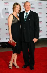 Tracey Dale and Alan Dale at the 33rd Annual People's Choice Awards.