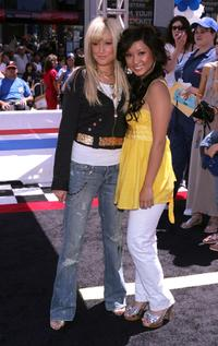 Ashley Tisdale and Brenda Song at the premiere of