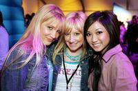 Shelley Buckner, Ashley Tisdale and Brenda Song at the after party of