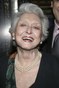 Celeste Holm at the premiere of