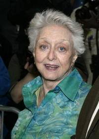 Celeste Holm at the screening of