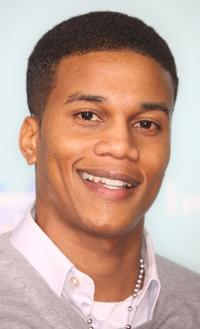 Cory C. Hardrict at the premiere of
