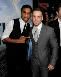 Cory C. Hardrict and Will Rothhaar at the California premiere of