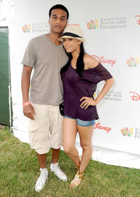 Cory C. Hardrict and Tia Mowry at the 21st A Time For Heroes Celebrity Picnic sponsored by Disney to benefit the Elizabeth Glaser Pediatric Aids Foundation in California.