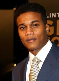 Cory C. Hardrict at the world premiere of