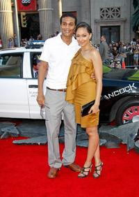 Cory C. Hardrict and Tia Mowry at the premiere of