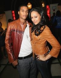 Cory C. Hardrict and Tia Mowry at the after party of the world premiere of