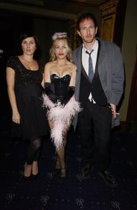 Sadie Frost and Paul Kaye at the launch night for a new Sunday night cabaret show