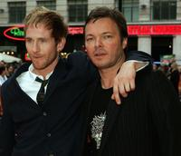 Paul Kaye and Pete Tong at the UK premiere of