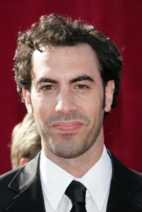 Sacha Baron Cohen at the 57th Annual Emmy Awards.