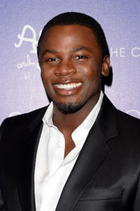 Derek Luke at the New York premiere of