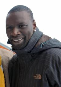 Omar Sy at the presentation of