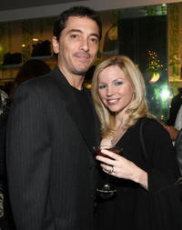 Scott Baio and Renee Sloan at the SU2C Merchandise Collection Launch party.