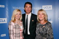 Renee Baio, Scott Baio and Jill Fisch at the press conference to kickoff the National Newborn Screening Awareness Month.