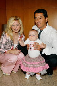 Scott Baio, Renee Baio and daughter Bailey at the press conference to kickoff the National Newborn Screening Awareness Month.