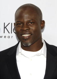 Djimon Hounsou at  The 25th Anniversary Party of Calvin Klein Underwear in N.Y.