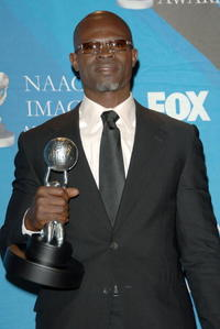 Djimon Hounsou at the 38th annual NAACP Image Awards.