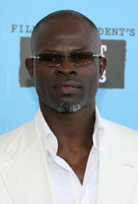 Djimon Hounsou at the 22nd Annual Film Independent Spirit Awards.