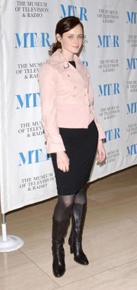 Alexis Bledel at the Museum of Television & Radio presents