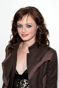 Alexis Bledel at the MTV's Total Request Live.