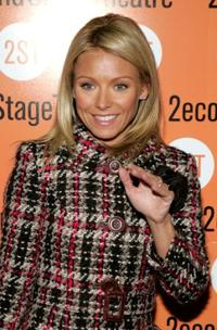 Kelly Ripa at the play opening night of
