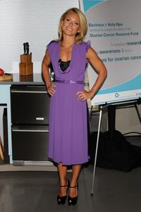 Kelly Ripa at the Electrolux support the Ovarian Cancer Research Fund event.