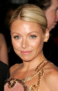 Kelly Ripa at the Metropolitan Museum of Art Costume Institute Benefit Gala