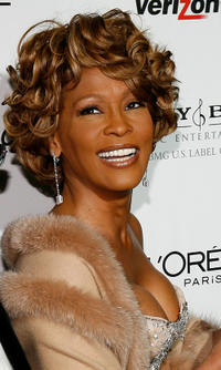 Whitney Houston at the 2007 Clive Davis Pre-GRAMMY party in California.