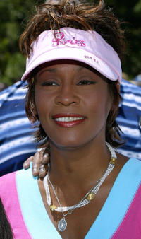 Whitney Houston at the California premiere of