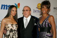 Musician Alicia Keys, Chairman and CEO BMG USA Clive Davis and Whitney Houston at the 2008 Clive Davis Pre-GRAMMY party in California.