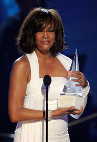 Whitney Houston at the 2009 American Music Awards in California.